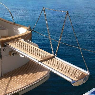 Maintenance of gangways and hydraulic accesses